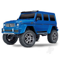 Blue TRX-4 Mercedes-Benz G 500 4X4 1:10 RTD Electric Trail Truck (+ TQi, XL-5 HV, Titan 550)