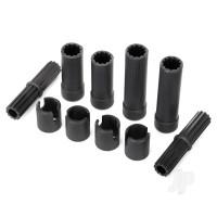 Half shafts (plastic parts only)