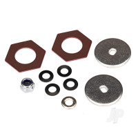 Rebuild kit, slipper clutch (Steel disc (2 pcs) / friction insert (2 pcs) / 4.0mm NL (1pc) / spring washers (4 pcs), metal washer (1pc))