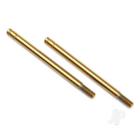 Shock shaft, 3x47mm (GTS) (titanium nitride-coated) (2pcs)