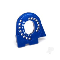 Motor mount plate, 6061-T6 aluminium (Blue-anodized)