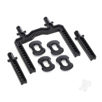 Body mounts, front & rear (fits #8311 body) (2pcs)