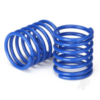 Spring, shock (blue) (3.7 rate) (2pcs)