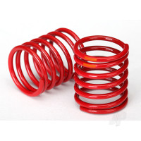 Spring, shock (red) (3.325 rate, orange stripe) (2pcs)