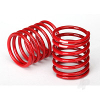 Spring, shock (red) (2.8 rate, white stripe) (2pcs)