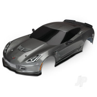 Body, Chevrolet Corvette Z06, graphite (painted, decals applied)