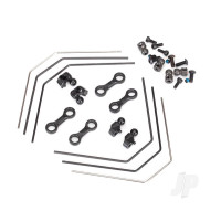 Sway bar kit, 4-Tec 2.0 (front and rear) (includes front and rear sway bars and adjustable linkage)