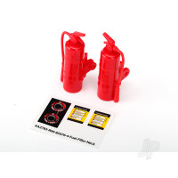 Fire extinguisher, red (2pcs)