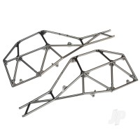 Tube chassis, side section (left & right) (satin black chrome-plated)