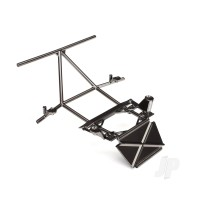 Tube chassis, center section, front (satin black chrome-plated)
