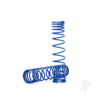 Spring, shock, rear (blue) (GTR) (progressive, 1.042 rate) (2pcs)