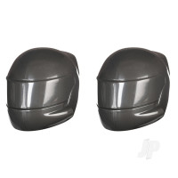 Driver helmet, grey (2pcs)