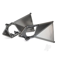 Mounts, suspension arm, upper (front) (left & right) (satin black chrome-plated)