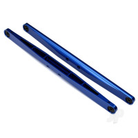 Trailing arm, aluminium (blue-anodized) (2pcs) (assembled with hollow balls)