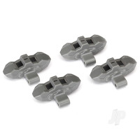 Brake calipers, front or rear (grey) (4pcs)