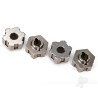 Wheel hubs, hex, steel (4pcs)