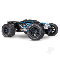Blue E-Revo VXL Brushless 1:10 4WD Brushless Electric Monster Truck (+ TQi, VXL-6s, TSM)