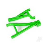 Suspension arms, Green, Front (right), heavy duty (upper (1pc) / lower (1pc))