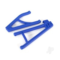 Suspension arms, Blue, Rear (right), heavy duty, adjustable wheelbase (upper (1pc) / lower (1pc))