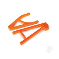 Suspension arms, orange, rear (left), heavy duty, adjustable wheelbase (upper (1pc) / lower (1pc))