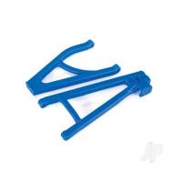 Suspension arms, blue, rear (left), heavy duty, adjustable wheelbase (upper (1pc) / lower (1pc))