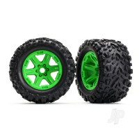 Tyres and Wheels, Assembled Glued Talon EXT Tyres (2 pcs)