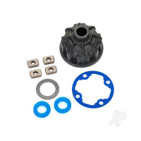 Carrier, Differential (heavy duty) / x-ring gaskets (2 pcs) / ring gear gasket / spacers (4 pcs) / 12.2x18x0.5 PTFE-coated washer (1pc)