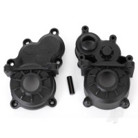 Gearbox halves (front & rear) / idler gear shaft