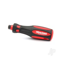 Speed bit handle, premium, large (rubber overmould)
