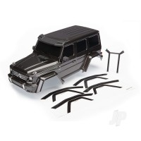 Body, Mercedes-Benz G 500 4x4_, complete (black) (includes rear body post, grille, side mirrors, door handles, & windshield wipers)