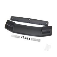 Roof visor / visor retainer / visor lens (2 pcs) / 2.6x6 BCS (3 pcs) / 3x4 GS (4 pcs)