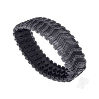 Treads, All-Terrain, TRX-4 Traxx (rear, left or right) (rubber) (1pc)