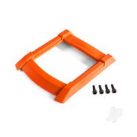 Skid plate, roof (body) (orange) / 3x12mm CS (4pcs)
