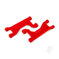 Suspension arms, upper, red (left or right, front or rear) (2pcs)