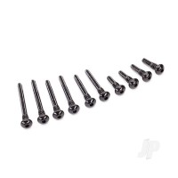 Suspension screw pin set, front or rear (hardened steel), 4x18mm (4pcs), 4x38mm (2pcs), 4x33mm (2pcs), 4x43mm (2pcs)