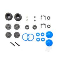 Rebuild kit, GT-Maxx shocks (lower cartridge, assembled, pistons, piston nuts, bladders) (renews 2 shocks)