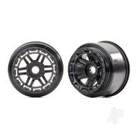 Wheels (black) (2pcs)