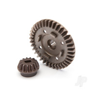 Ring gear, differential / pinion gear, differential (rear)