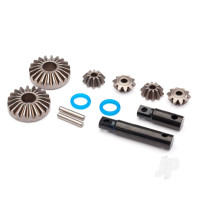 Output gear, center differential, hardened steel (2pcs)