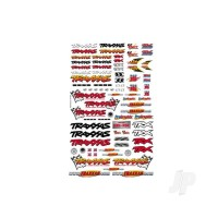 Official Team Traxxas racing decal set (flag logo / 6-colour)