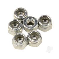 Nylon Lock Nut M3 (6pcs) (Karoo)