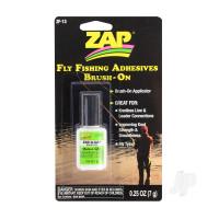 Fly Fishing Adhesives Zap-A-Gap Medium Brush On (0.25oz, 7g)