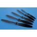 9x6 Nylon Glass Fibre Black Propeller
