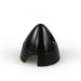 1 1/2in (37mm) Black Nylon Spinner