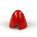 2 1/4in (56mm) Red Nylon Spinner