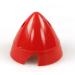 2 1/2in (63mm) Red Nylon Spinner