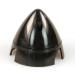 2 1/2in (63mm) 3-Blade Black Nylon Spinner