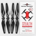 4.7x2.9 DJI Spark STEALTH Upgrade Propeller Set, 4x Black
