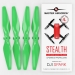 4.7x2.9 DJI Spark STEALTH Upgrade Propeller Set, 4x Green
