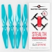 4.7x2.9 DJI Spark STEALTH Upgrade Propeller Set, 4x Blue